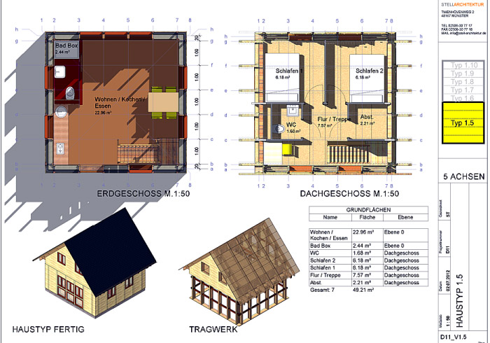 Tiny Houses Haus selber bauen mit Baukastensystem • Tiny Houses