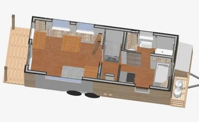 Tiny House On Wheels Floor Plans Sketchup File The Tiny