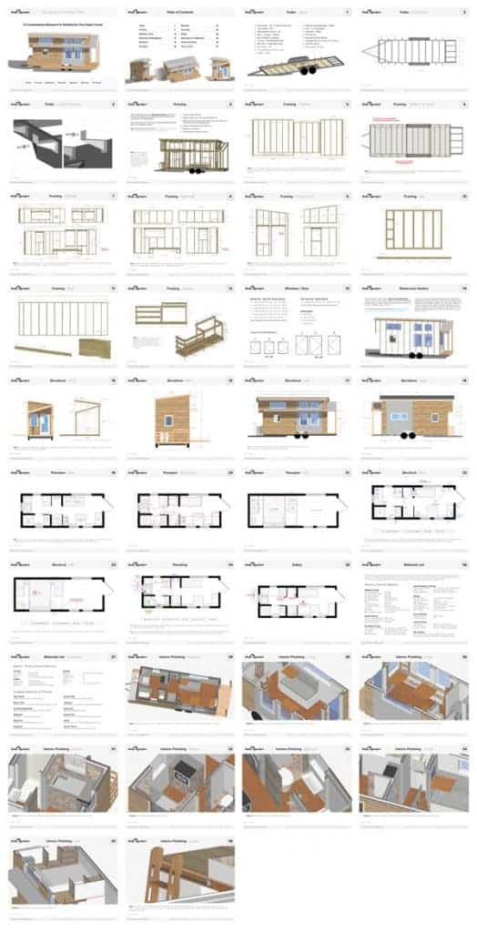 Tiny Project House Plans – Tiny House Collaborative