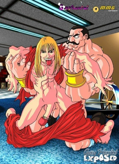 Excited sandy-haired anime porno faggot getting rectally porked by a humungous man-meat outdoors