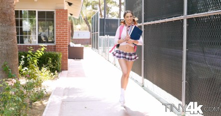 Tiny 4k Kristen Scott in Back To School 3