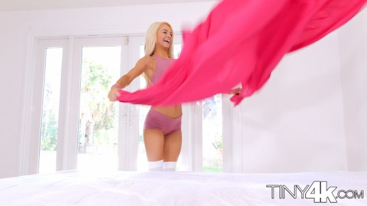 Elsa Jean in Tiny Teen Sneaks In Boyfriend 1