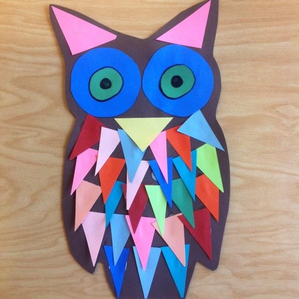 Owl Art Project Kindergarten
