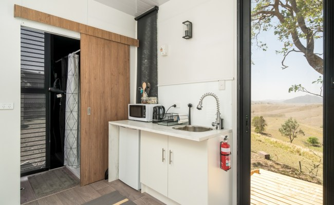Dam It Getaway Tiny House Tiny House Accommodation Nsw