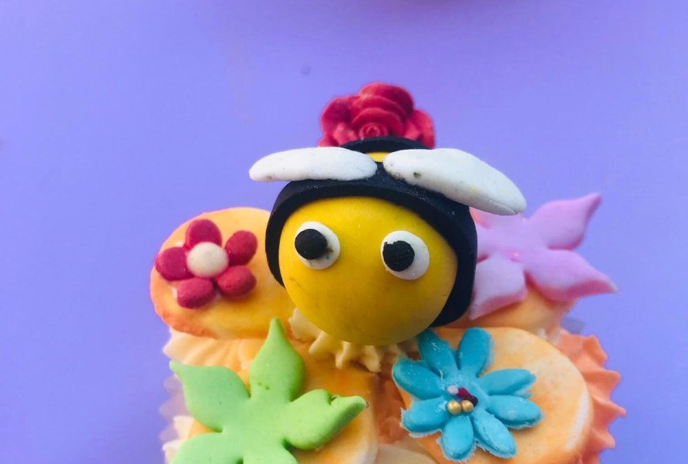 Spring celebration cupcakes