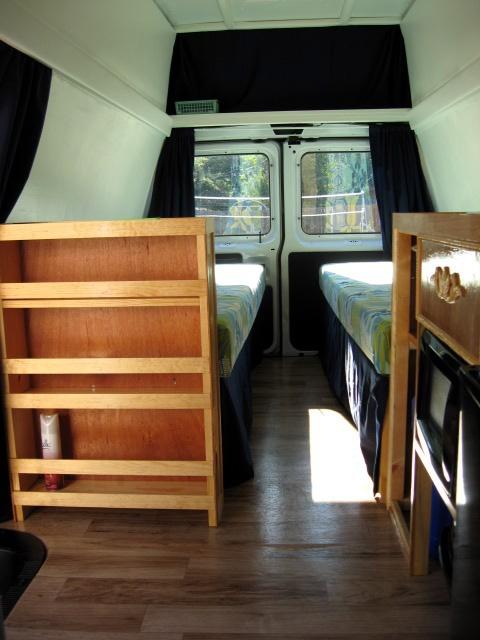 Build How To Build Wooden Van Shelving DIY john deere