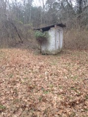 Old outhouse.