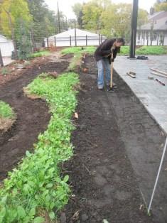 TD-dry creek bed tamping soil
