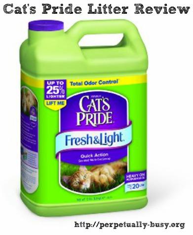 Cat's Pride Fresh & Light Litter