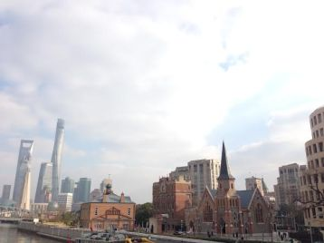 Shanghai - we lived there for a year and it was an amazing experience! This was also the first place where we relocated to with a tiny expat in tow.