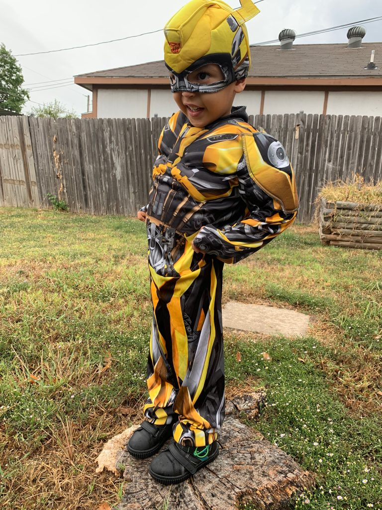 affordable transformers costume