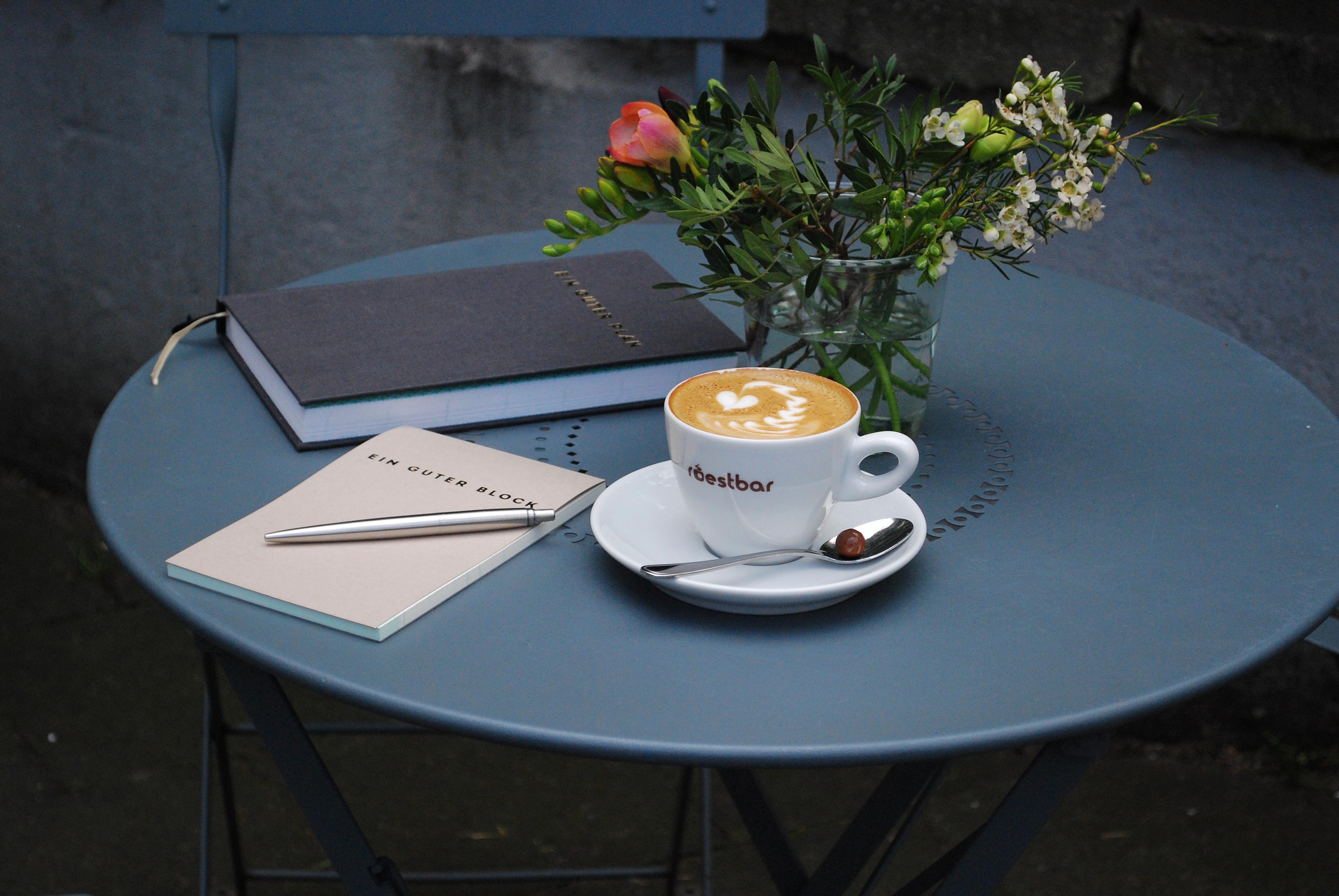 Kaffee trinken & Gutes tun