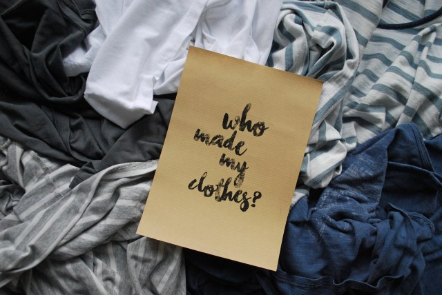 Fashion Revolution Week, Fashion Revolution, #whomademyclothes, Faire Mode, Fair Fashion, Fast Fashion Argumente, Fair fashion Argumente