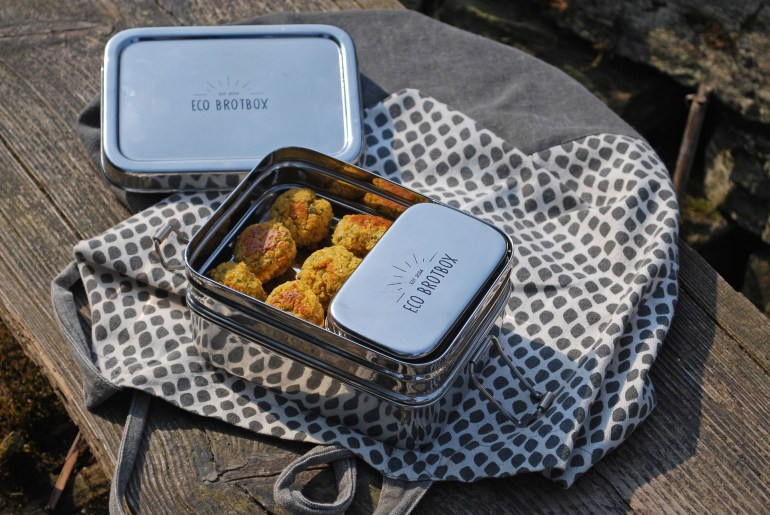 Vegane Picknick Ideen mit EcoBrotbox, FoodGuide Münster, Picknick vegan, zero Waste Picknick, Münster Guide