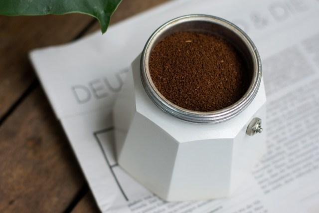 Bialetti, Herdkanne, Kaffee unverpackt, Kaffee Zero Waste