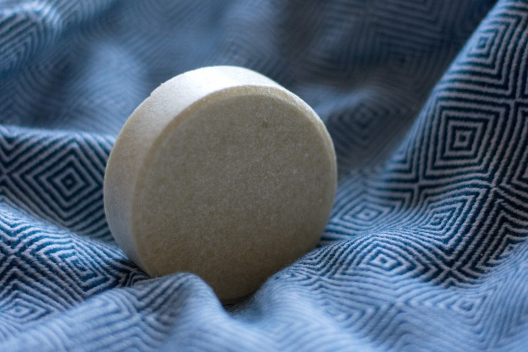Alverde feste Dusche, Duschstück Alverde, Alverde Syndet, Alverde feste Dusche Minze Bergamotte