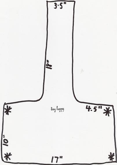 tiny happy: shoulder bag tutorial