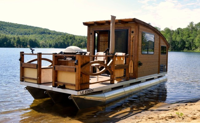 This Floating Tiny Home Is The Perfect Choice For The