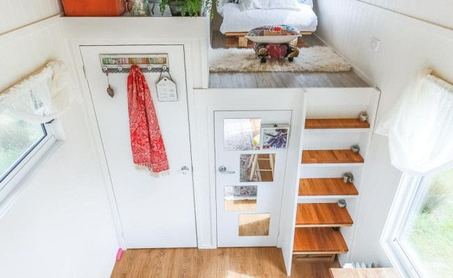 Dream Tiny Home Offers Surprising Space And A Walk In