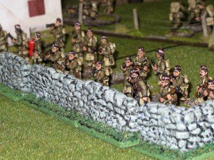 The Argyll and Sutherland battle line
