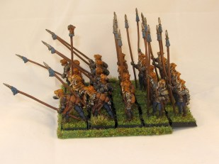 These miniatures rank up reasonably well into a nice pike block