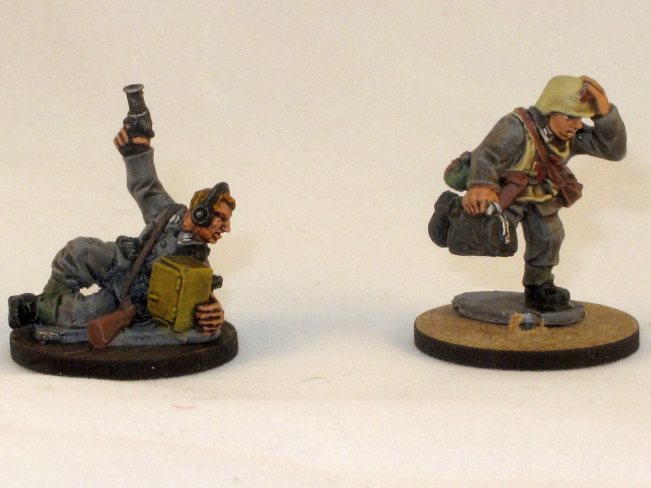 dark quickshade left vs strong right note how brown the shading - Quick Shade