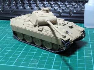 This is pretty much how a panther would have looked coming out of the factory.