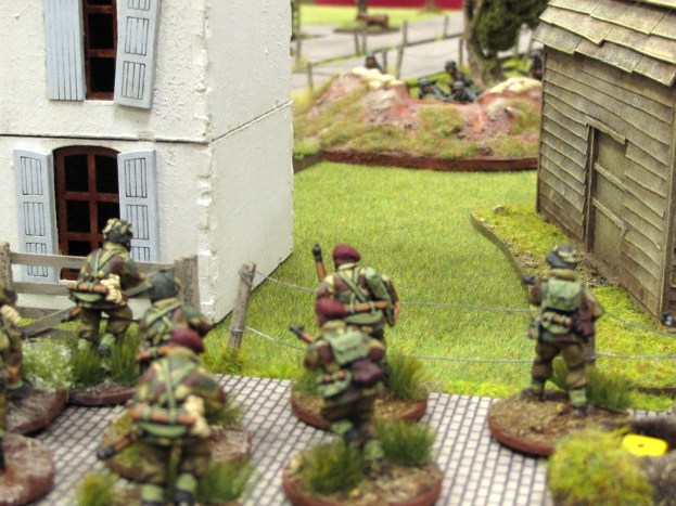 The Paras closing in on German positions in the final game of the Arnhem campaign