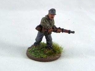 Rifleman in cap