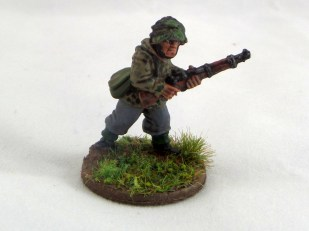 Rifleman advancing in smock