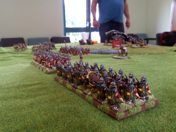 Tony's lovely looking Imperial Roman army