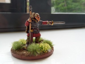 Everybody who played on the weekend got a free miniature from the talented Dave Toone