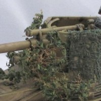 Making miniature foliage camo