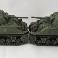 Plastic Shermans head-to-head: Rubicon vs Warlord