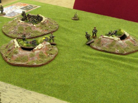 Heavy British defences as the Paras make their last stand in KvL game 5