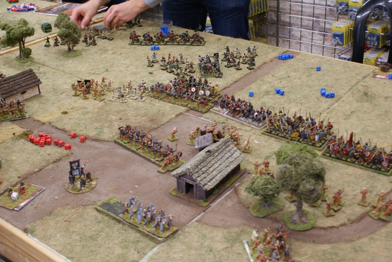 A Dark Ages bash. Look, they even have cavalry!