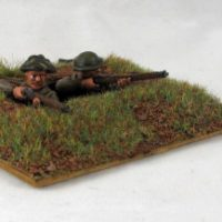 Dug In British Infantry