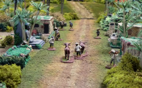 Civilians can be an important feature of some scenarios, such as this lovely Vietnam game.
