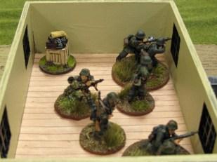 Germans prepare to defend the farm (again!)