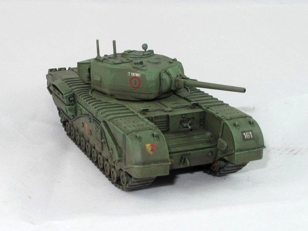 NA75, a Churchill fitted with the gun from the M4 Sherman