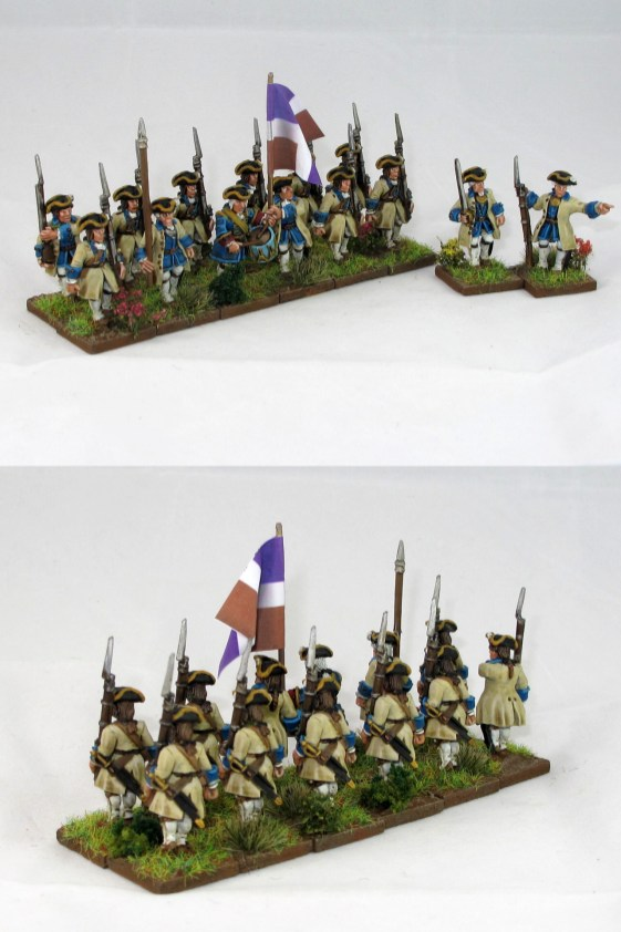 28mm FIW French Regulars