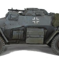 Warlord Sd.Kfz. 221 Armoured Car