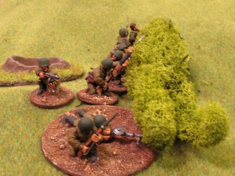 The defenders of the Motherland decide to do some defending, and turn up on the table (about time!)
