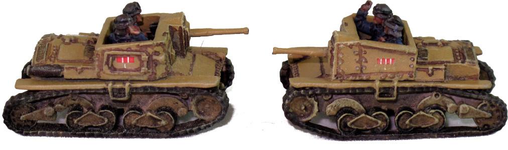 Battlefront Semovente 47/32 Tank Destroyers