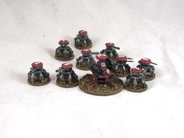 Gaslands Turrets 1