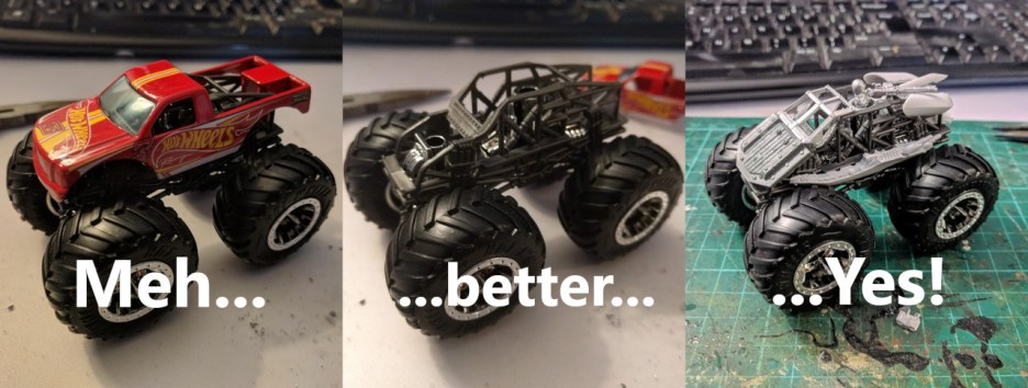 Mishkin monster truck WIP