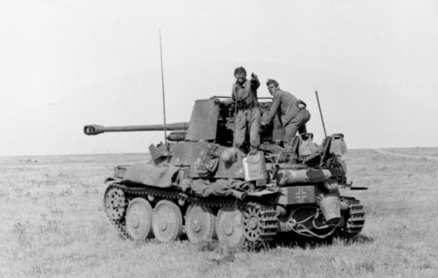 The original Marder III (as this model). The crew seem to have spotted the mobile brothel approaching from the rear