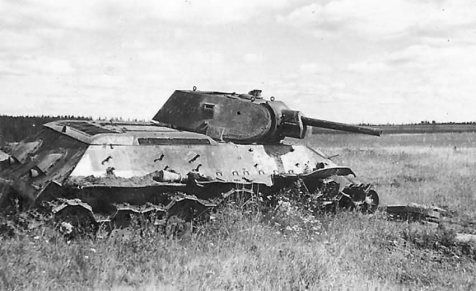 The T-34 has the dubious distinction of being the most knocked-out tank in history