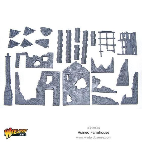 All the parts you get on two sprues