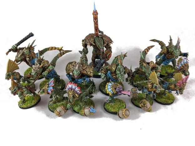 BB Lizardmen team photo